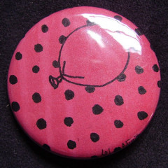 Badge Ballon Rouge 3.0