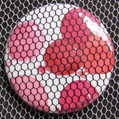 Badge Ballons Rouges Tulle