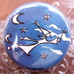 Badge Personnalisé Fée de Nuit
