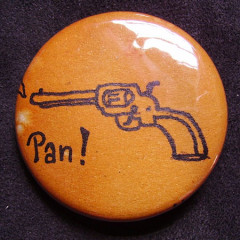Badge Pistolet Six Coups 2.0