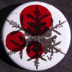 Badge Flocons - Pastilles Rouges