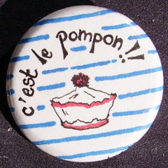 Badge Marin - Pompom