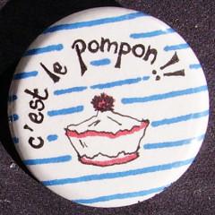 Badge Marin - Pompom