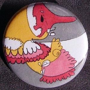 Badge Pantin Rouge