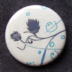 Badge Blanche Bulle