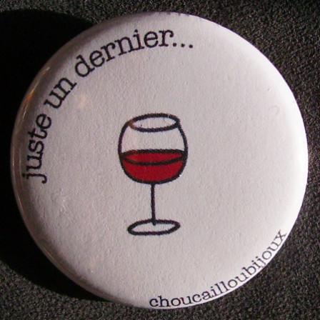Badge Taverne - Un Dernier Blanc