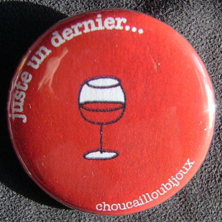 Badge Taverne - Un Dernier Rouge