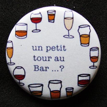 Badge Taverne - Un petit tour au bar