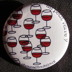 Badge Taverne - Un petit verre... de plus ?