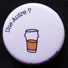 Badge Taverne - Une autre blanche