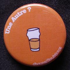 Badge Taverne - Une autre orange