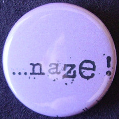 Badge Aujourd'hui je suis - Naze...
