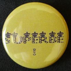 Badge Aujourd'hui je suis - Superbe !