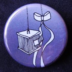 Badge Volière - Argent