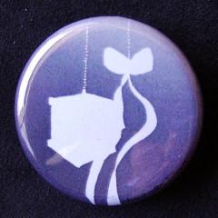 Badge Volière - Silhouette