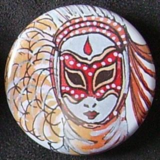 Badge Carnaval - Argent