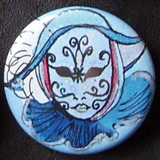 Badge Carnaval - Bleu