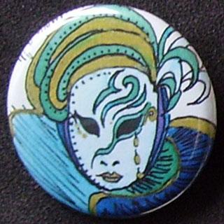 Badge Carnaval - Emeraude