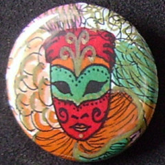 Badge Carnaval - Orange