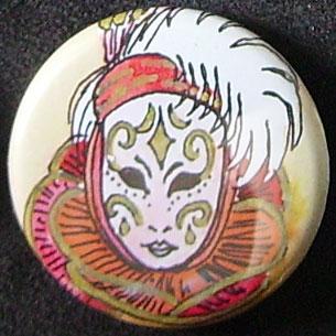 Badge Carnaval - Rubis