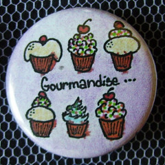 Badge Gourmandise - Cupcakes