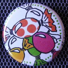 Badge Gourmandise - Des Gros Bonbons