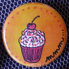 Badge Gourmandise - Mmm...