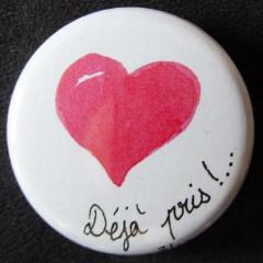 Badge «Les Amoureux» Déjà Pris !