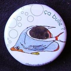Badge Poisson - ça bulle ?