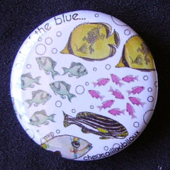 Badge Poisson - Out of the blue