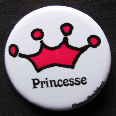 Badge princesse - Couronne