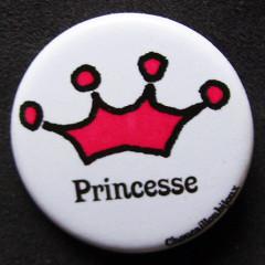 Badge princesse - Couronne