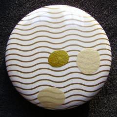 Badge Vagues d'Or