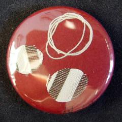 Badge Bourgogne Pastilles à Rayures