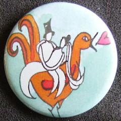 Badge Idylle - Balade