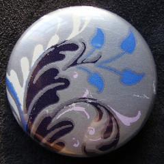Badge Iris Feuille