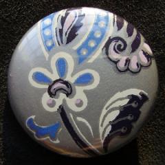 Badge Iris Fleur