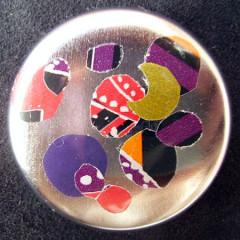 Badge Régalade Paillettes à la Lune