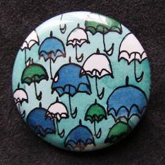 Badge Parapluies Camaieu Bleu