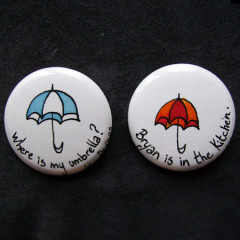 Badge Umbrella & Kitchen