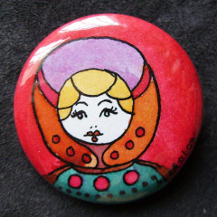 Badge Poupée Russe 15.0