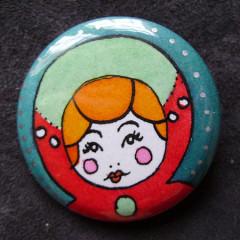 Badge Poupées Russes 16.0