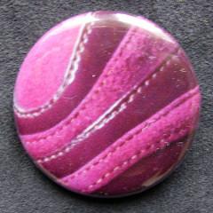 Badge Rose Cuir