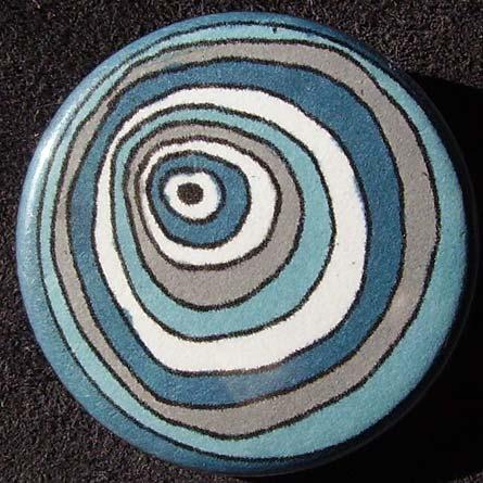 Badge Raja Cercles Bleus