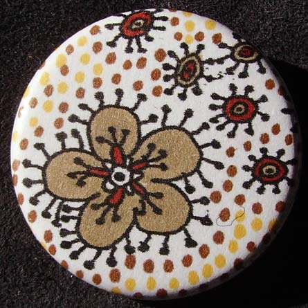 Badge Raja Fleur Cannelle