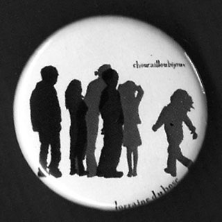 Badge Silhouettes - Foule