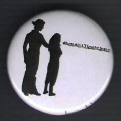 Badge Silhouettes - Lorraine et Alice