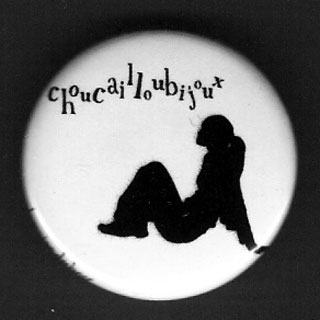 Badge Silhouettes - Yseult Pose
