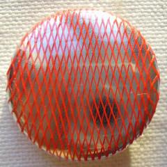 Badge Résille Fine Rouge