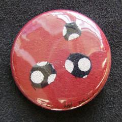 Badge Bourgogne Pois Noirs 2.0